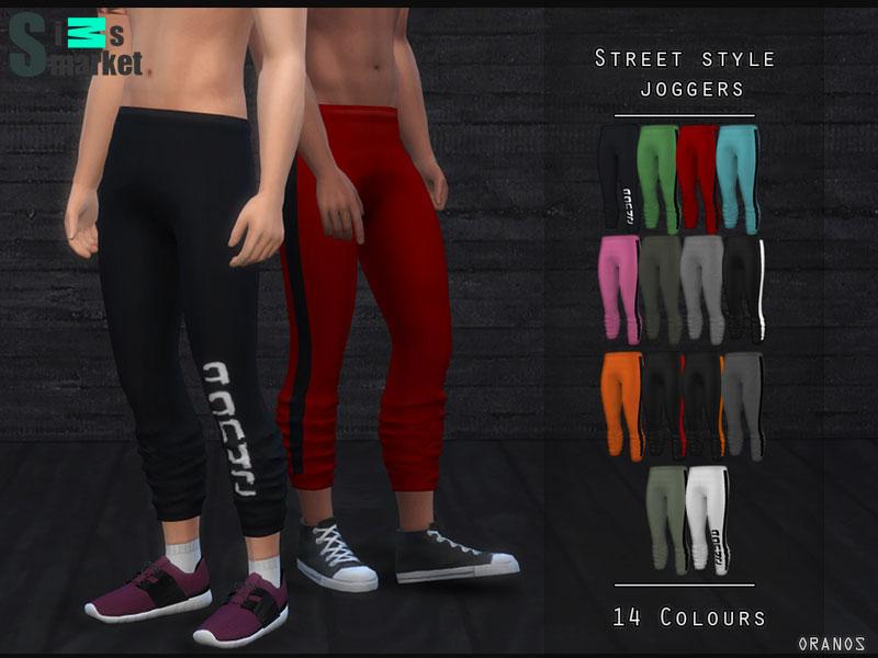 a803cd9da Мод для Sims 4 - мужские спортивные штаны